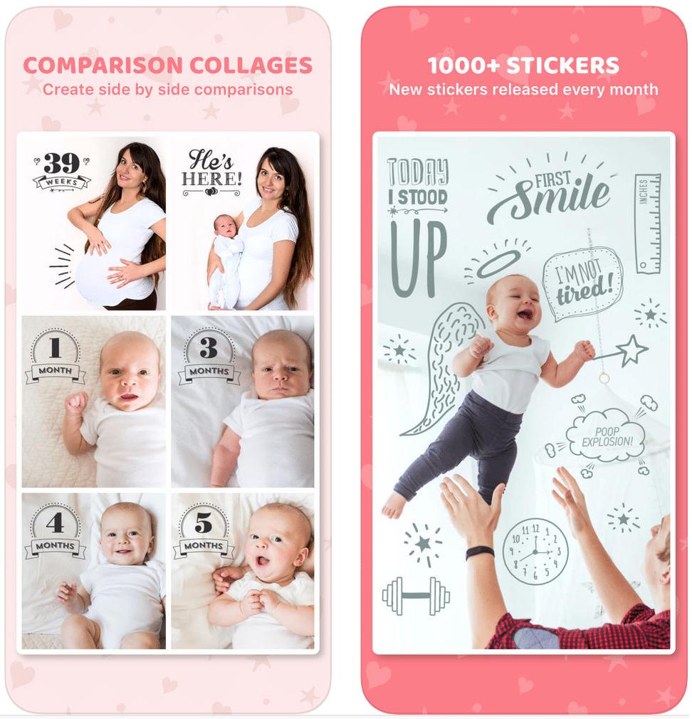 עיצוב תמונות הריון ולידה